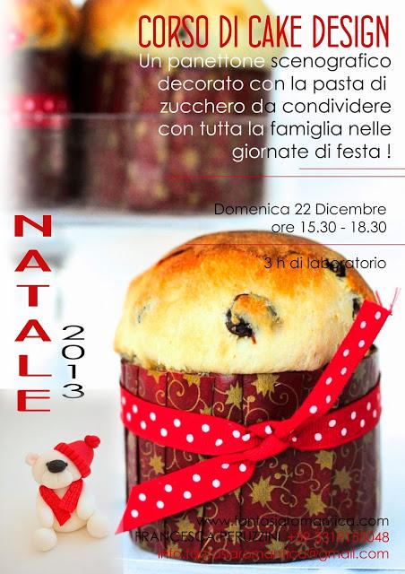 Corso Cake Design - Panettone scengorafico Natalizio ...
