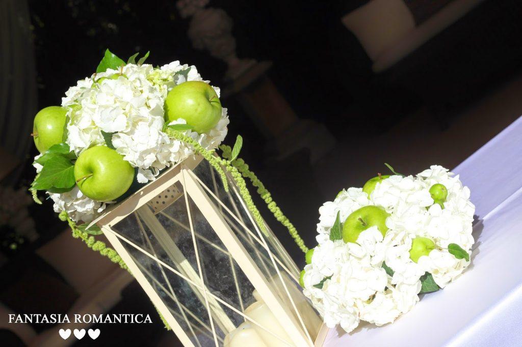 Segnaposto Matrimonio Verde Mela.Matrimonio In Verde Mela A Firenze Fantasia Romantica