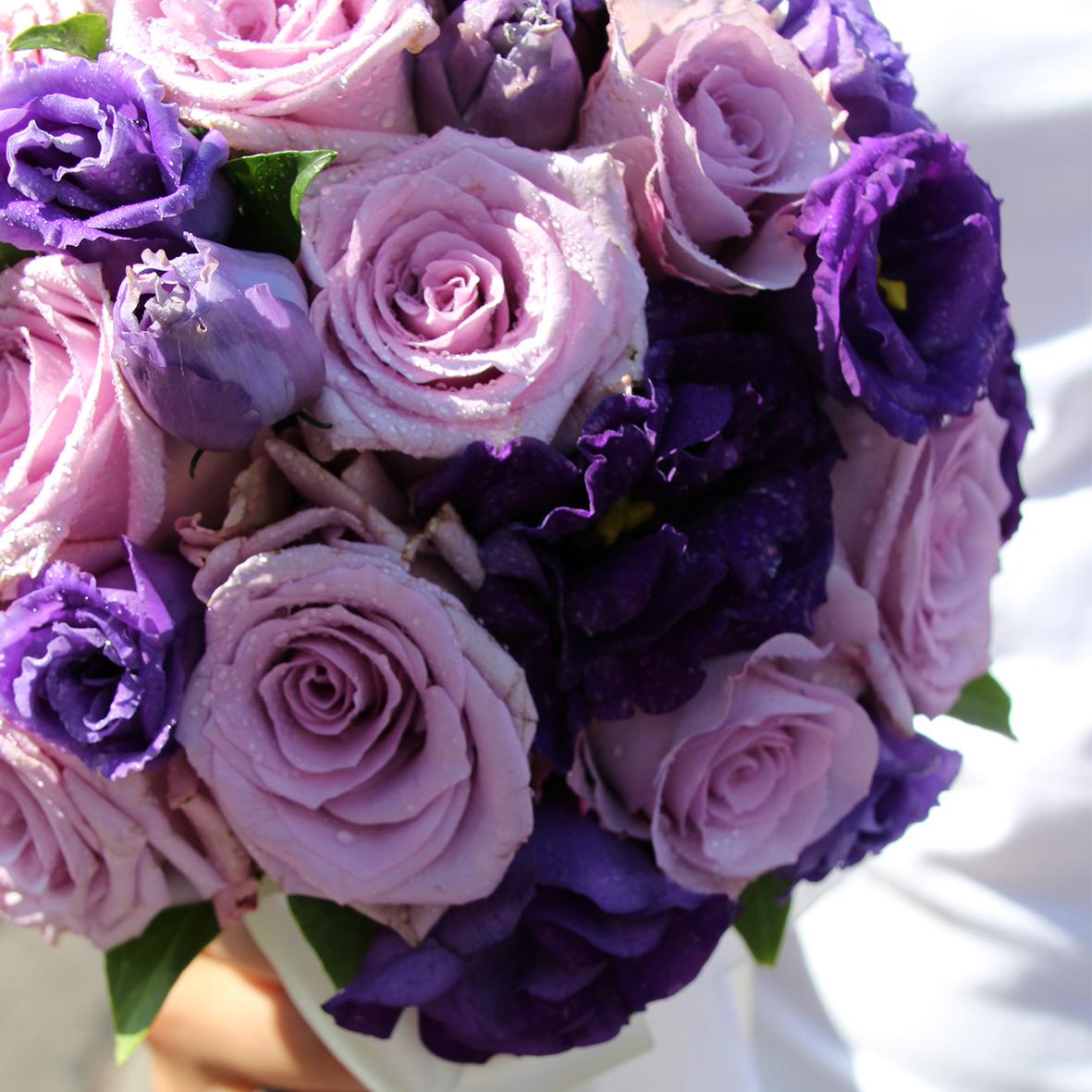 Matrimonio lilla viola glicine fantasia romantica for Tende lilla glicine